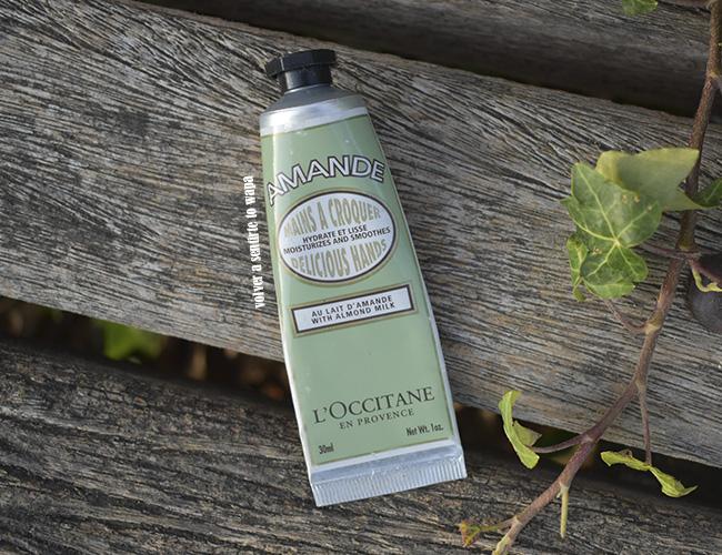 Crema de manos deliciosas almendra de L'occitane