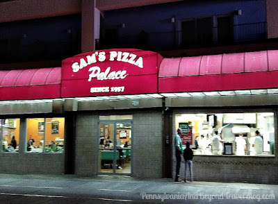 Sam's Pizza Palace in Wildwood New Jersey