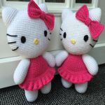 PATRON HELLO KITTY AMIGURUMI 24537