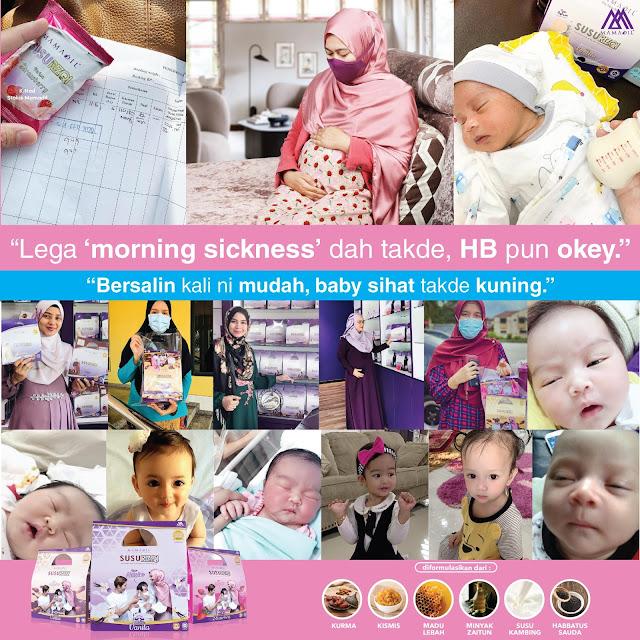 Susu Rizqi Mamadil Untuk Ibu mengandung