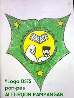logo osis Pondok Pesantren Al-Furqon  Pampangan OKI