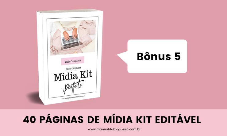 40 Páginas de Mídia Kit Editável No PowerPoint