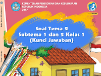 Soal Tema 2 Subtema 1 dan 2 Kelas 1 (Kunci Jawaban PTS 2020-2021)