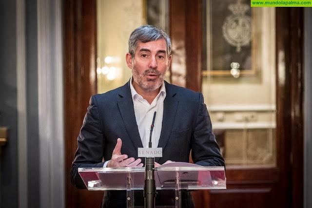 Clavijo advierte que la propuesta de Hacienda para gravar el transporte aéreo no excluye a Canarias