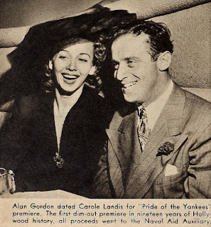 Carole Landis Alan Gordon