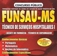 Concurso Funsau-MS 2017