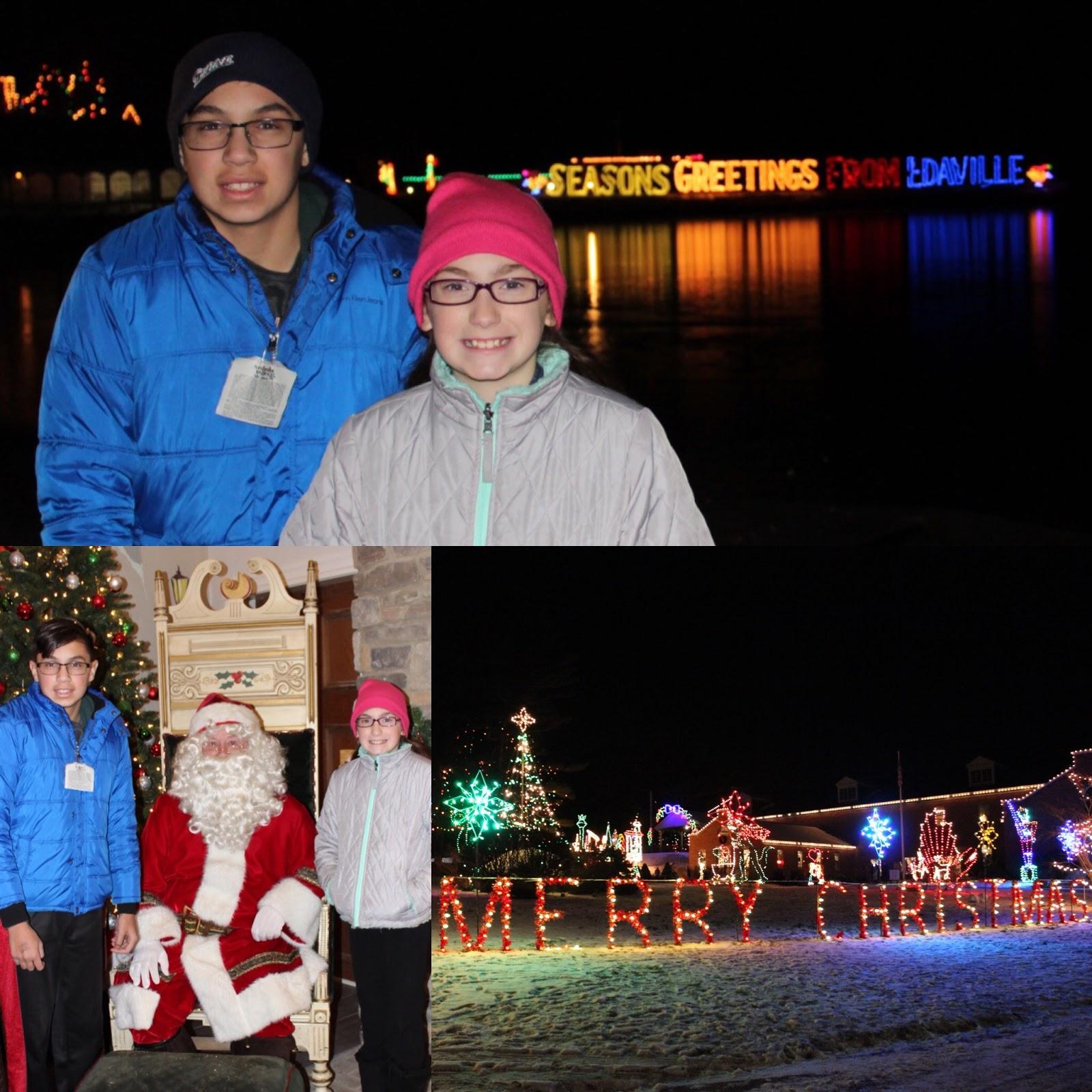 Evan and Lauren\'s Cool Blog: Edaville Family Theme Park Christmas ...