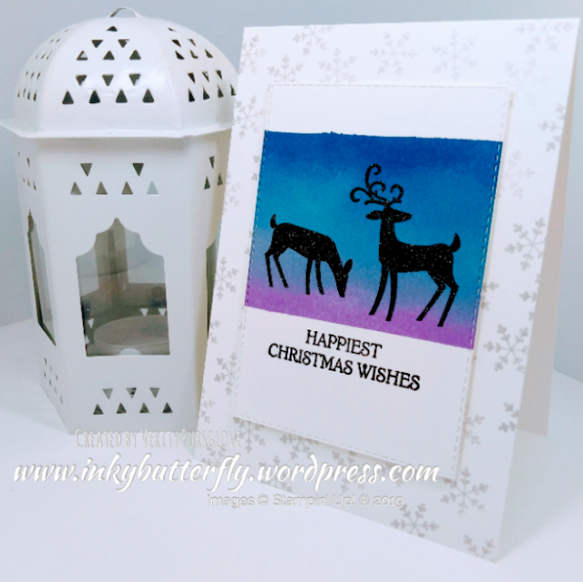 Nigezza Creates with Stampin' Up! & Inkybutterfly & Dashing Deer