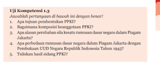 Soal dan Jawaban Uji Kompetensi 1.3 PKN kelas 7 Halaman 31