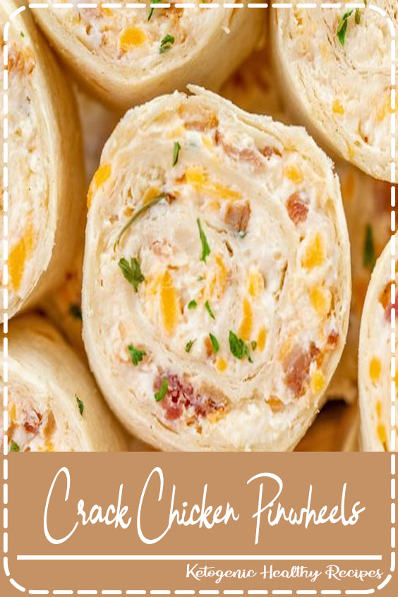 Crack Chicken Pinwheels - I am ADDICTED to these sandwiches! Cream cheese, cheddar, bacon, ranch and chicken wrapped in a tortilla. So simple to make with rotisserie chicken and precooked bacon. Can make ahead of time and refrigerate until ready to eat. Perfect for parties and tailgating!!