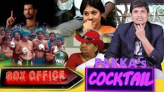 Neeya Naana Divya Teacher | Delhi Farmers | ADMK |Box Office | Cocktail