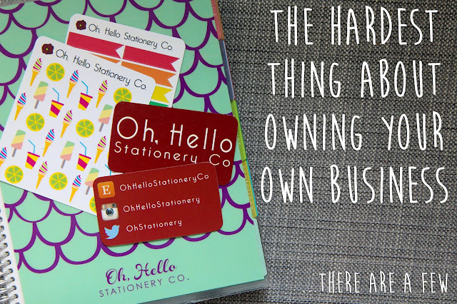 The Hardest Thing About Owning Your Own Business