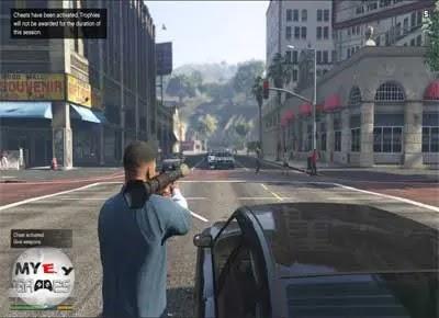 تحميل لعبة GTA 5 للكمبيوتر برابط واحد مباشر مجانا بحجم صغير