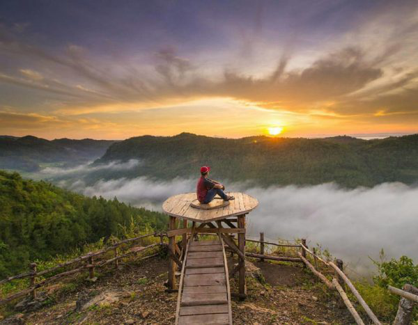 bukit panguk-Destinasi Wisata Alam Jogja Terhits