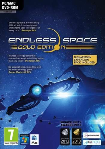 Endless Space Disharmony Gold Edition PC Full