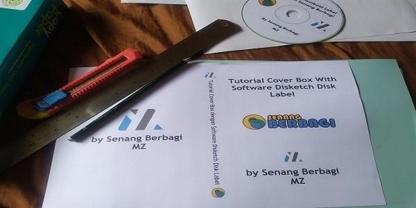 Cara Mudah Membuat Cover Box CD dengan Software Disketch Disk Label