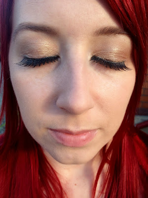 Pre-glued eyelashes by Eylure