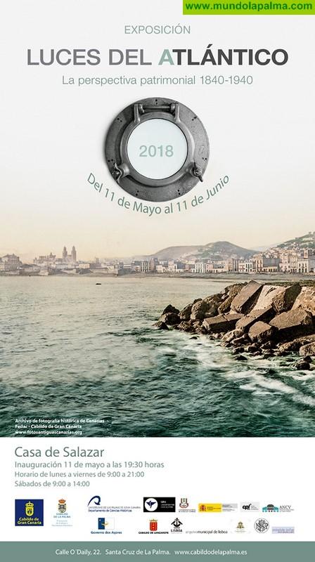 Una exposición trae a La Palma un recorrido en imágenes por la historia de los países e islas del Atlántico entre 1840 y 1940