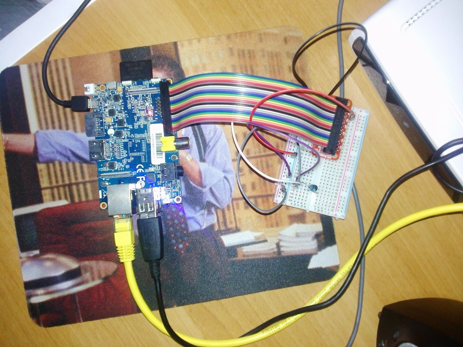Banana Pi Temperature Sensor (DS18B20)