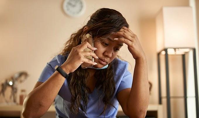 Com medo da morte, enfermeira com Covid-19 é evangelizada pelo telefone e aceita Jesus