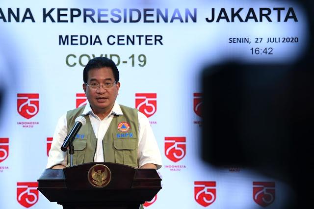 Orang Terpapar Covid-19 di Indonesia Kini Tembus 100 Ribu Lebih