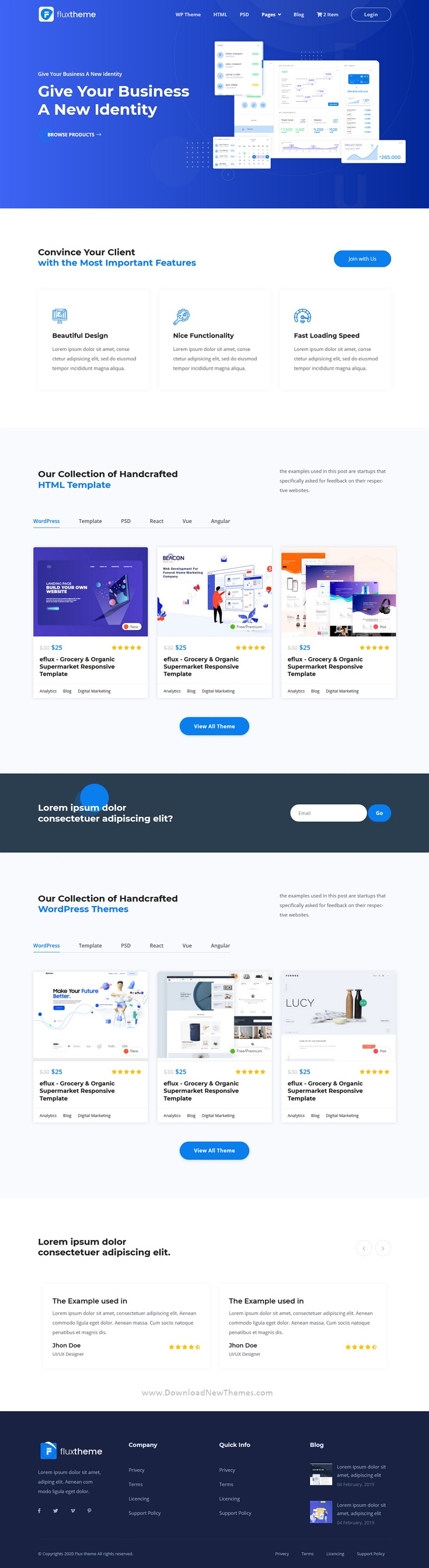 Digital Marketplate and eCommerce HTML5 Template