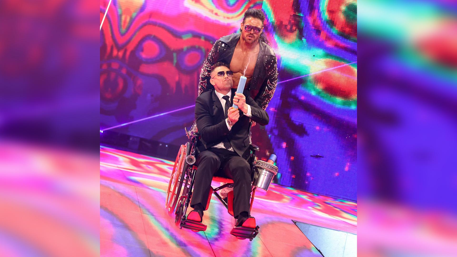 The Miz ainda não tem uma data para retornar aos ringues da WWE