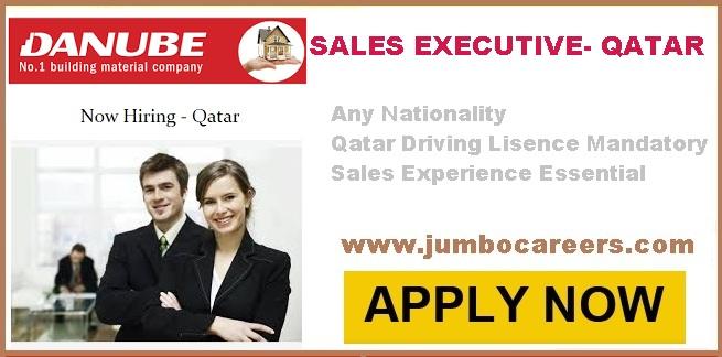 Danube Qatar Hiring Sales Executives | Free Direct Company Recruitment