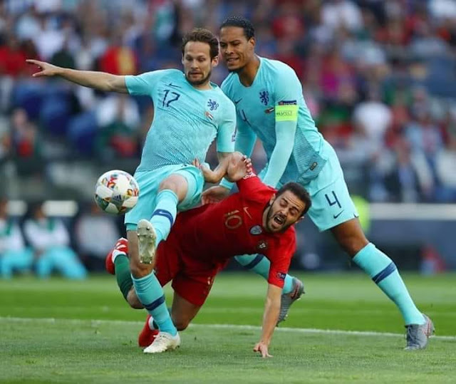 البرتغال بطلاً لدوري الأمم الأوروبية