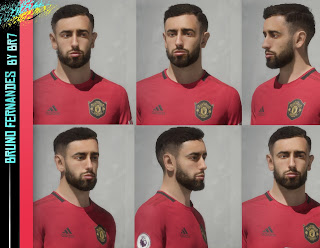 FIFA 20 Faces Bruno Fernandes by BR7
