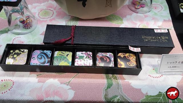 chocolat Japonais au salon du chocolat à Kyoto