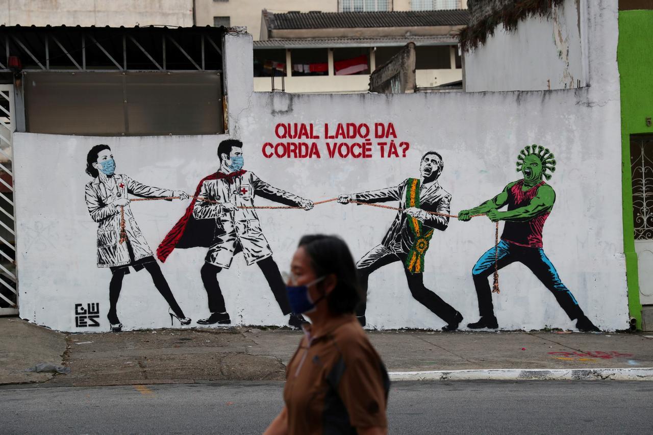 Coronavirus Brasil Bolsonaro