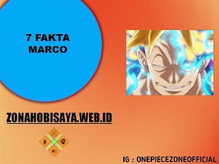 7 Fakta Marco One Piece, Komandan Divisi Pertama Bajak Laut Shirohige