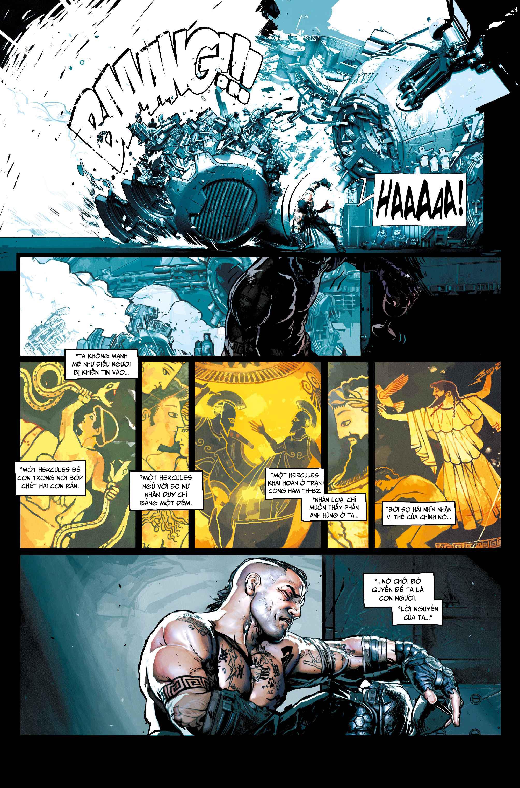 Hercules: Wrath of the Heavens | Thiên Đàng Động Nộ