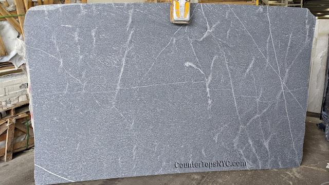 Silver grey honed granite NYC