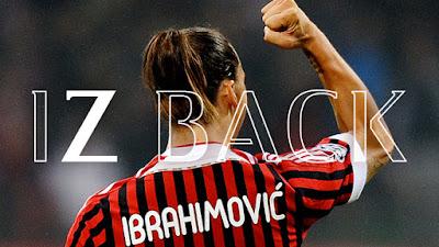 Akhirnya Zlatan Ibrahimovic Kembali Menginjakkan Kaki di Kota Milan