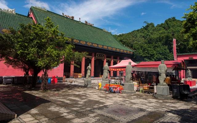 วัดแชกงหมิว (Che Kung Temple: 車公廟) @ agazaclick.com