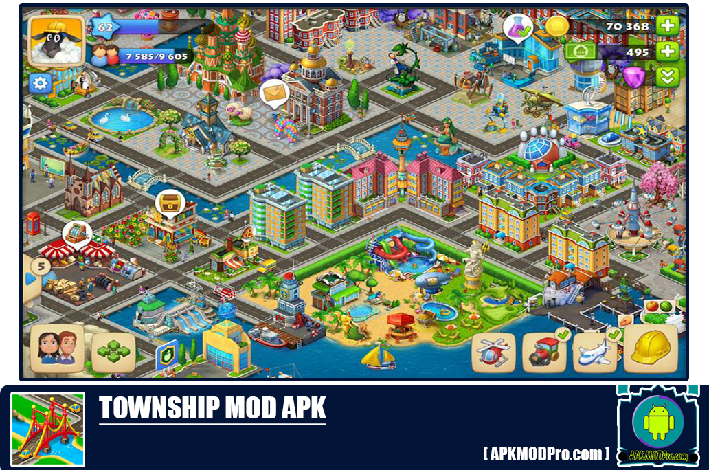Download Township MOD APK 7.2.0 [Unlimited Money] Terbaru 2020
