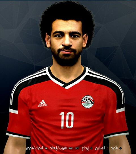 Ultigamerz Pes 2010 Pes 2011 Face: Ultigamerz: PES 2017 Mohammad Salah (Egypt NT, Liverpool) Face