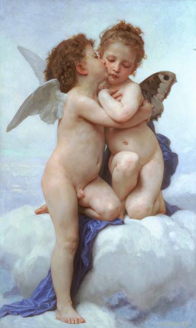 Адольф Вильям Бугро - Купидон и Психея (1889)