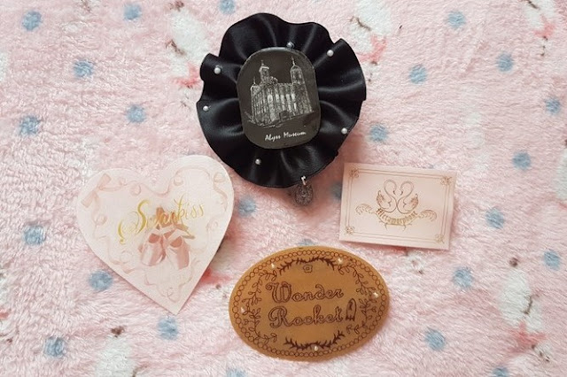 brooches, lolita fashion, eglcommunity, lolita, kawaii, swankiss, auris lothol, tutorial, japanese fashion, jfashion
