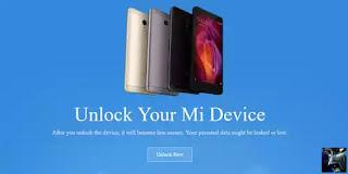 Cara Unlock Bootloader HP Xiaomi Redmi MI