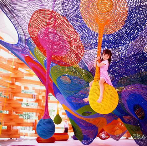 Parque de Atracciones Infantil en Crochet
