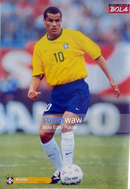 Poster Rivaldo (Brasil)