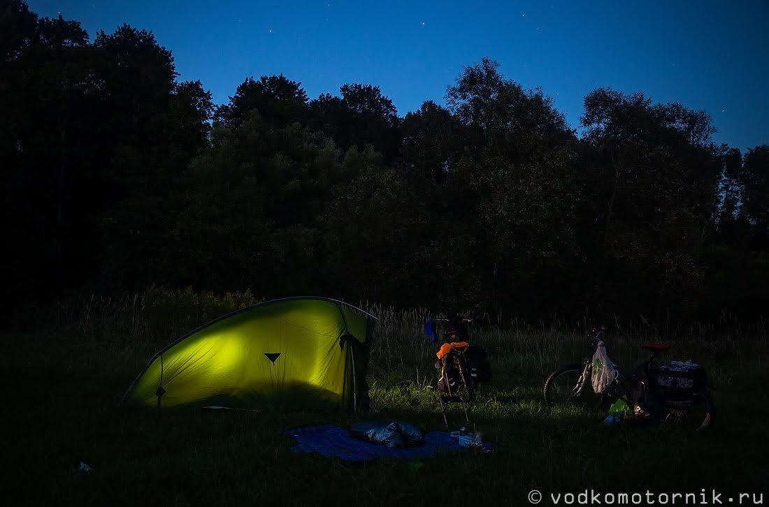 Внутренний свет палатки