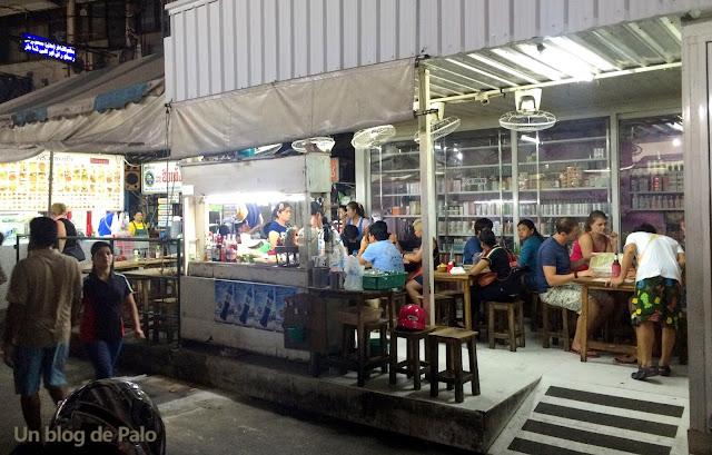 Restaurantes comida callejera en Bangkok