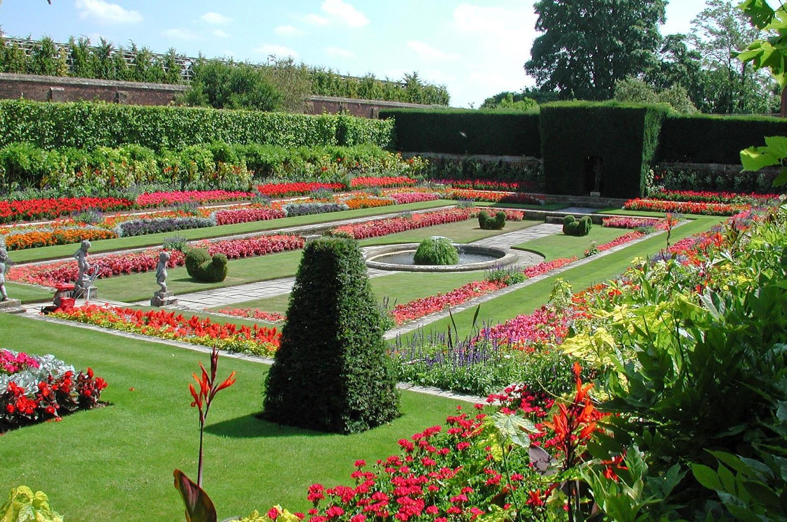 Roses In Garden: Garden History Matters: The Tudor Garden