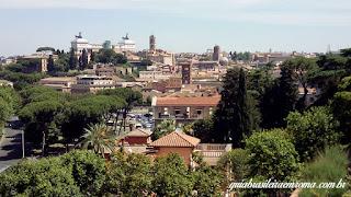 vista panoramica roma jardim laranjeiras - Jardim das Laranjeiras