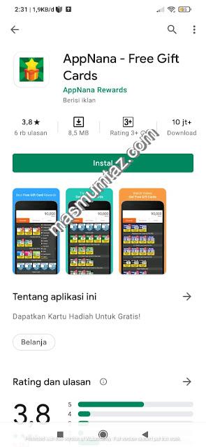 aplikasi penghasil dollar app nana