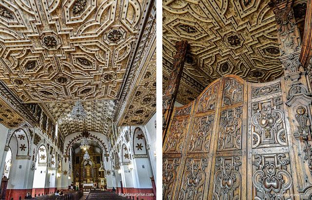 Interior da Igreja de San Agustín, Bogotá